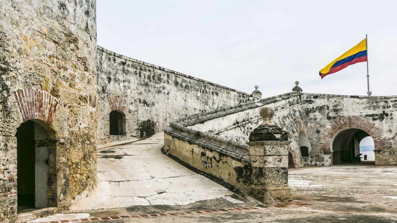 Fortifications of Bocachica,Cartagena de Indias