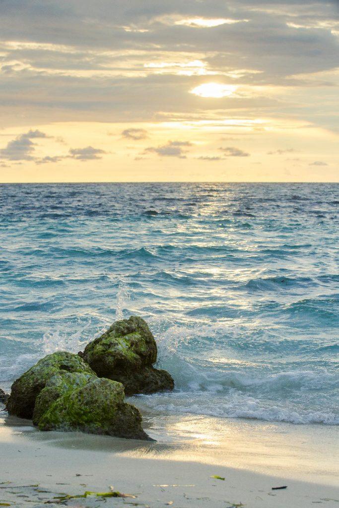 Atardecer en las playas de las Islas del Rosario