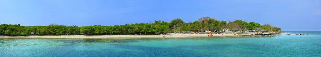 Panorama de la Isla del Rosario