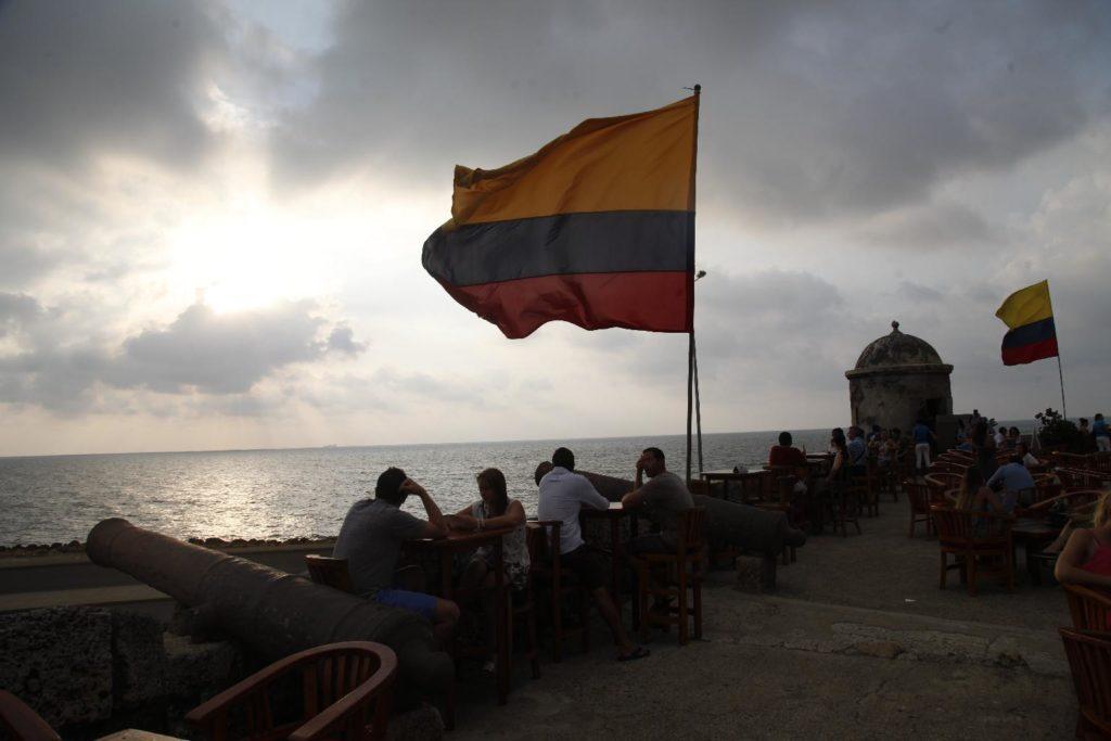 Puesta de sol en Cafe del Mar