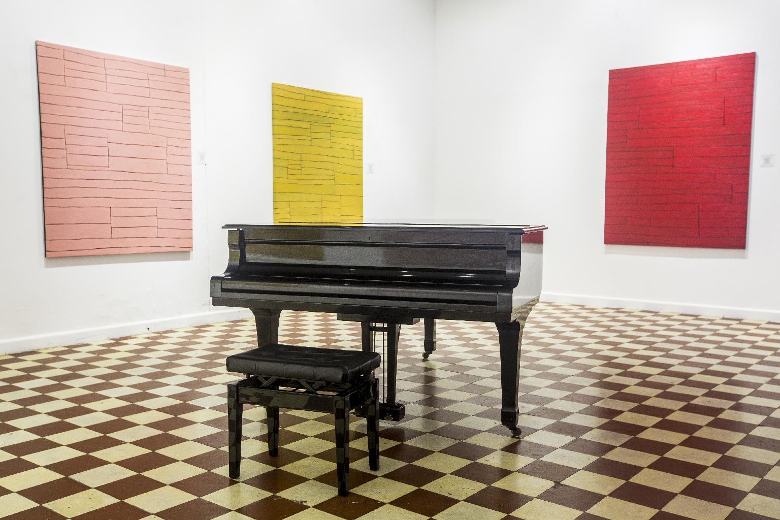 piano en una de las salas de La Presentación Casa Museo