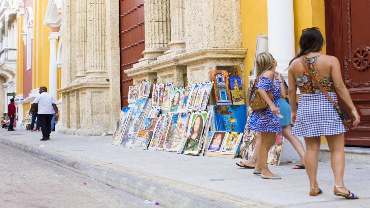 Crafts in Cartagena de Indias