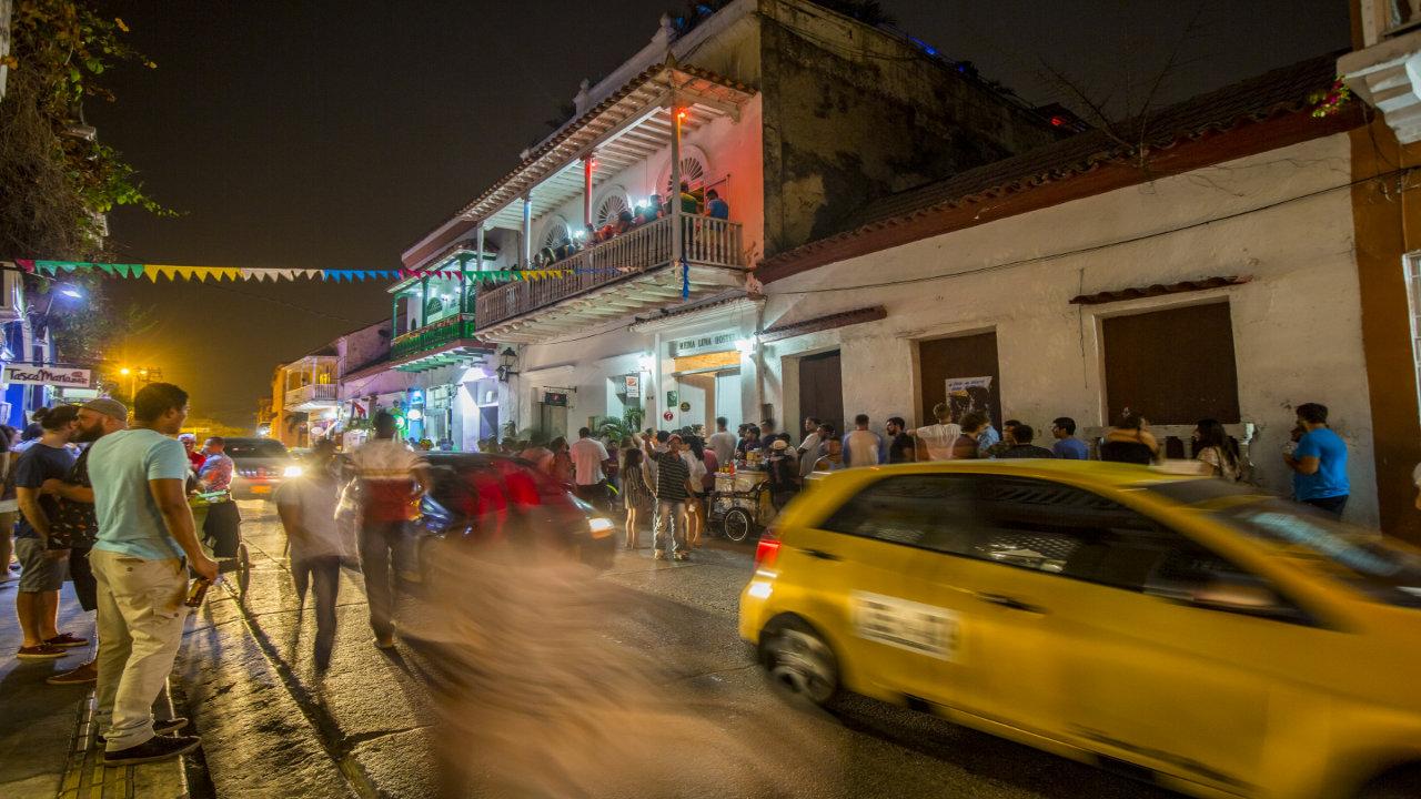 Noche en Cartagena Colombi
