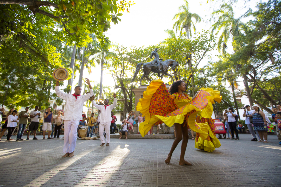 Parque-Simón-Bolívar-Cartagena