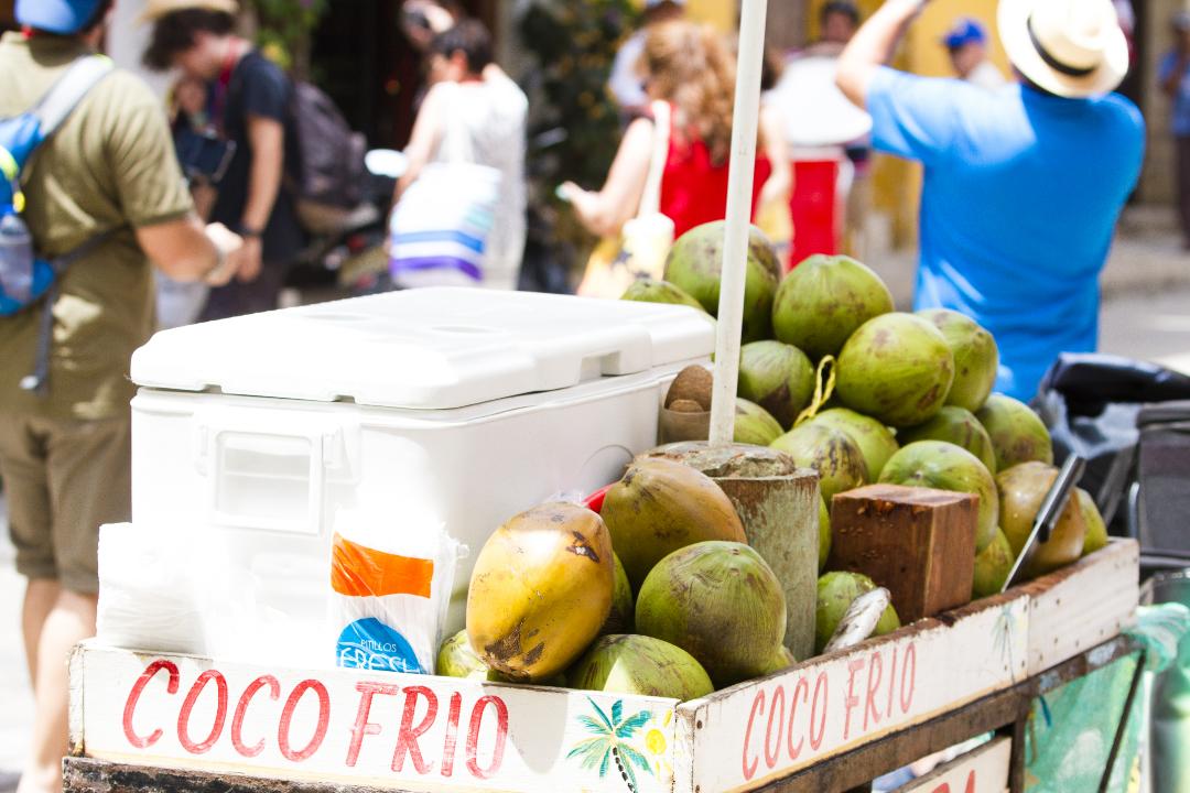 Coco frío Cartagena