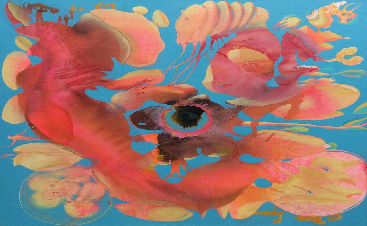 Obra de arte de Gabriel Silva, imagen para ilustrar nota de exposición de arte en Cartagena en la Galeria NH