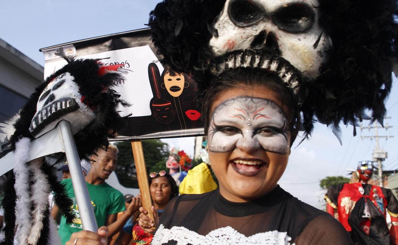 comparsa de las Fiestas de la Independencia de Cartagena 2019