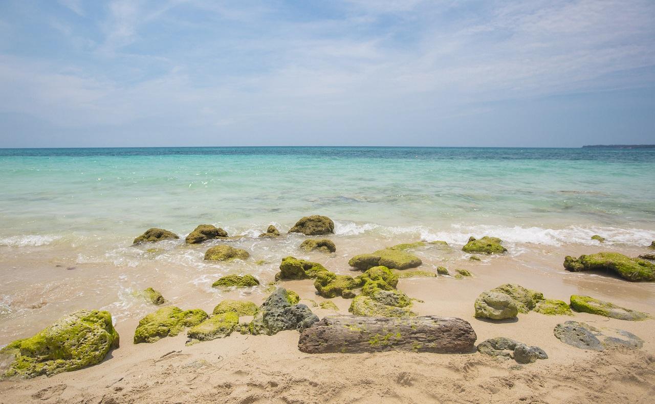 Playa Blanca en Barú Cartagena de Indias