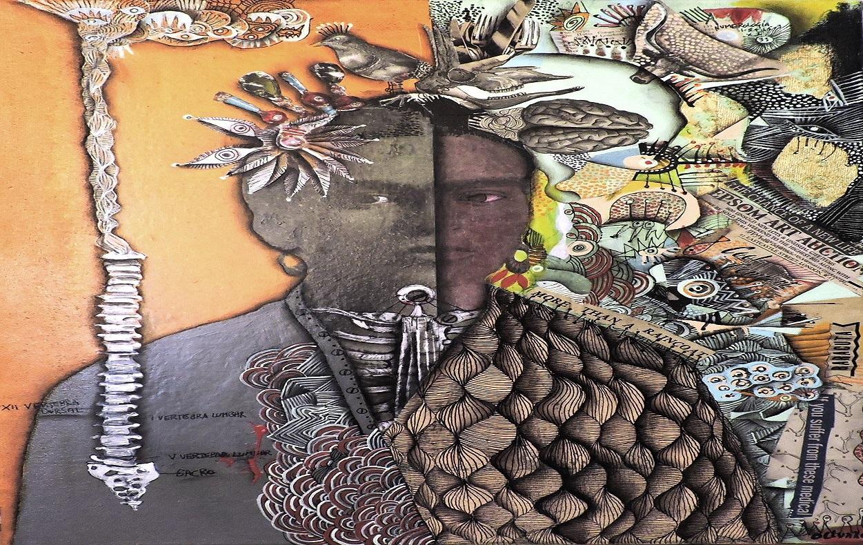 Obra del artista chileno Juan Olivares, exposición de pintura en Cartagena de Indias