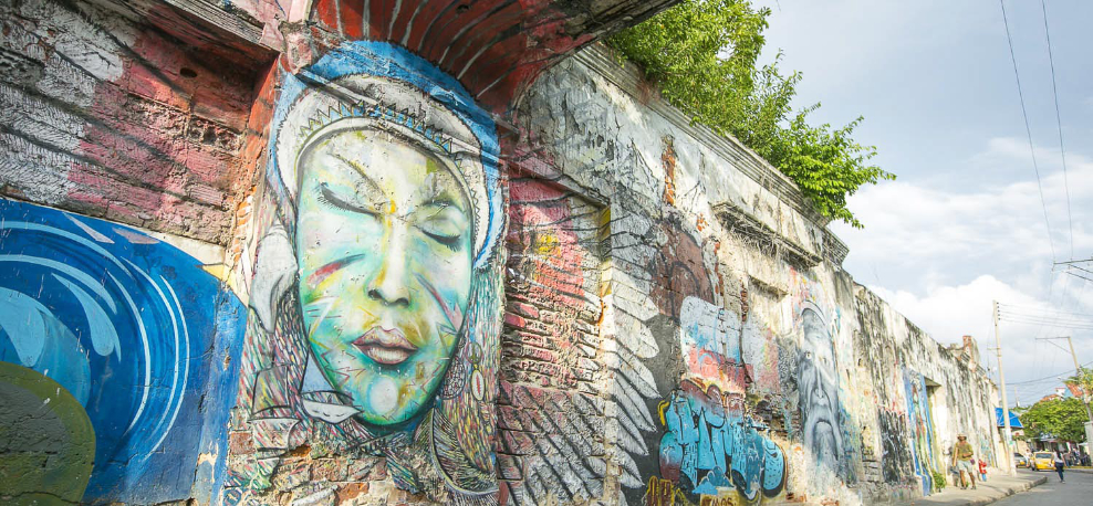 Grafiti-Getsemaní