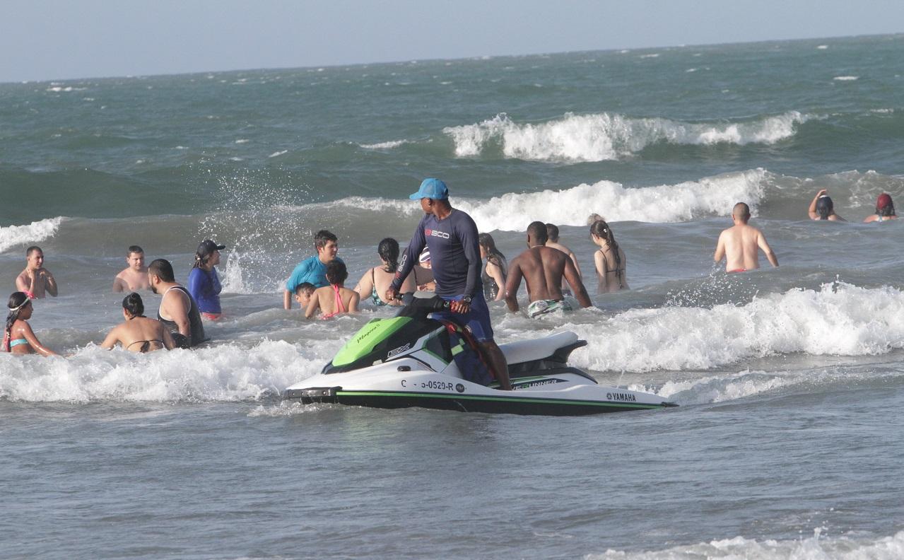 Alquiler de jet ski en playa de Cartagena de Indias