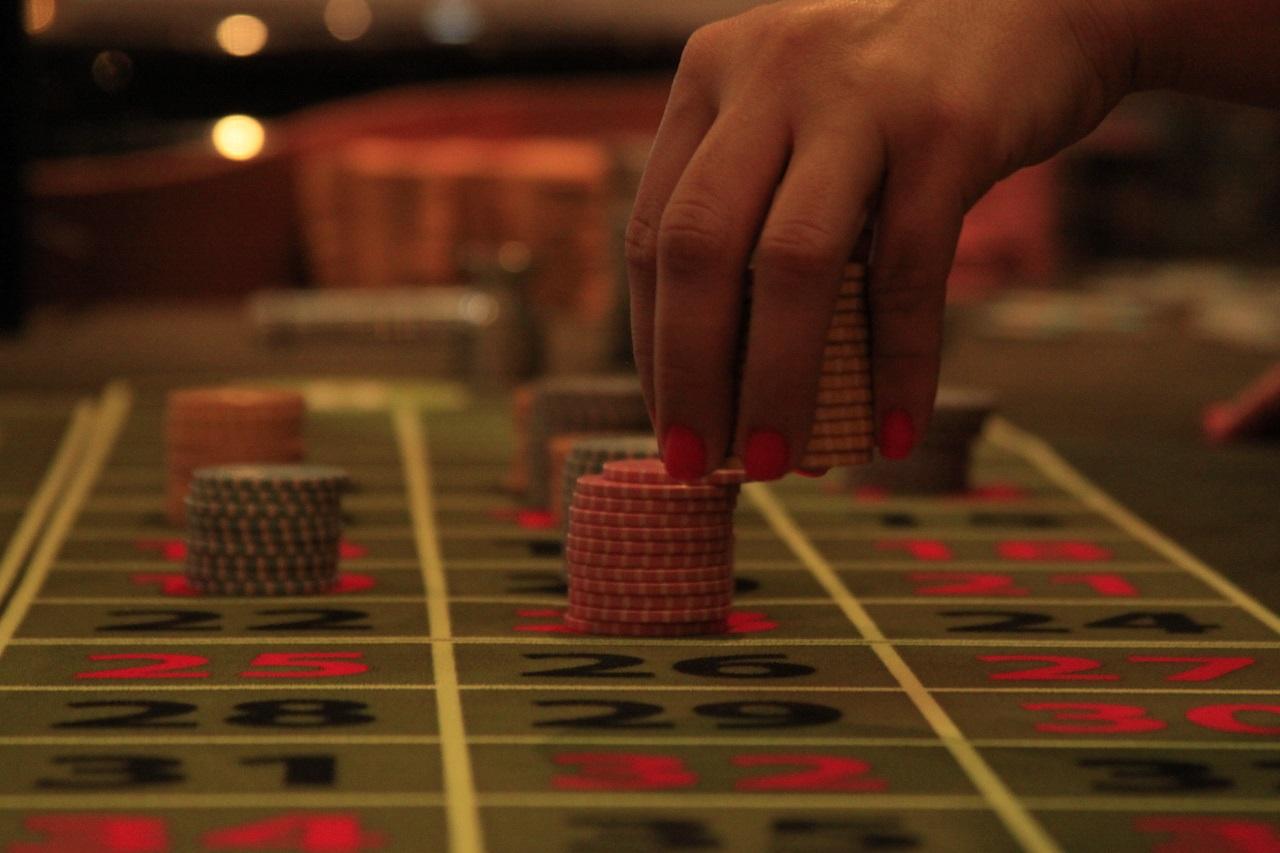 Mesa del Casino Río en Cartagena de Indias, Colombia
