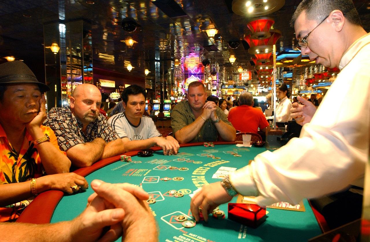 Torneo de Poker en Atlantic City, New Jersey.