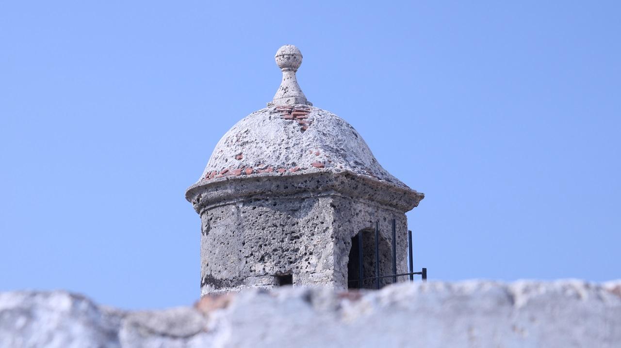 Garita-de-las-Murallas-de-Cartagena