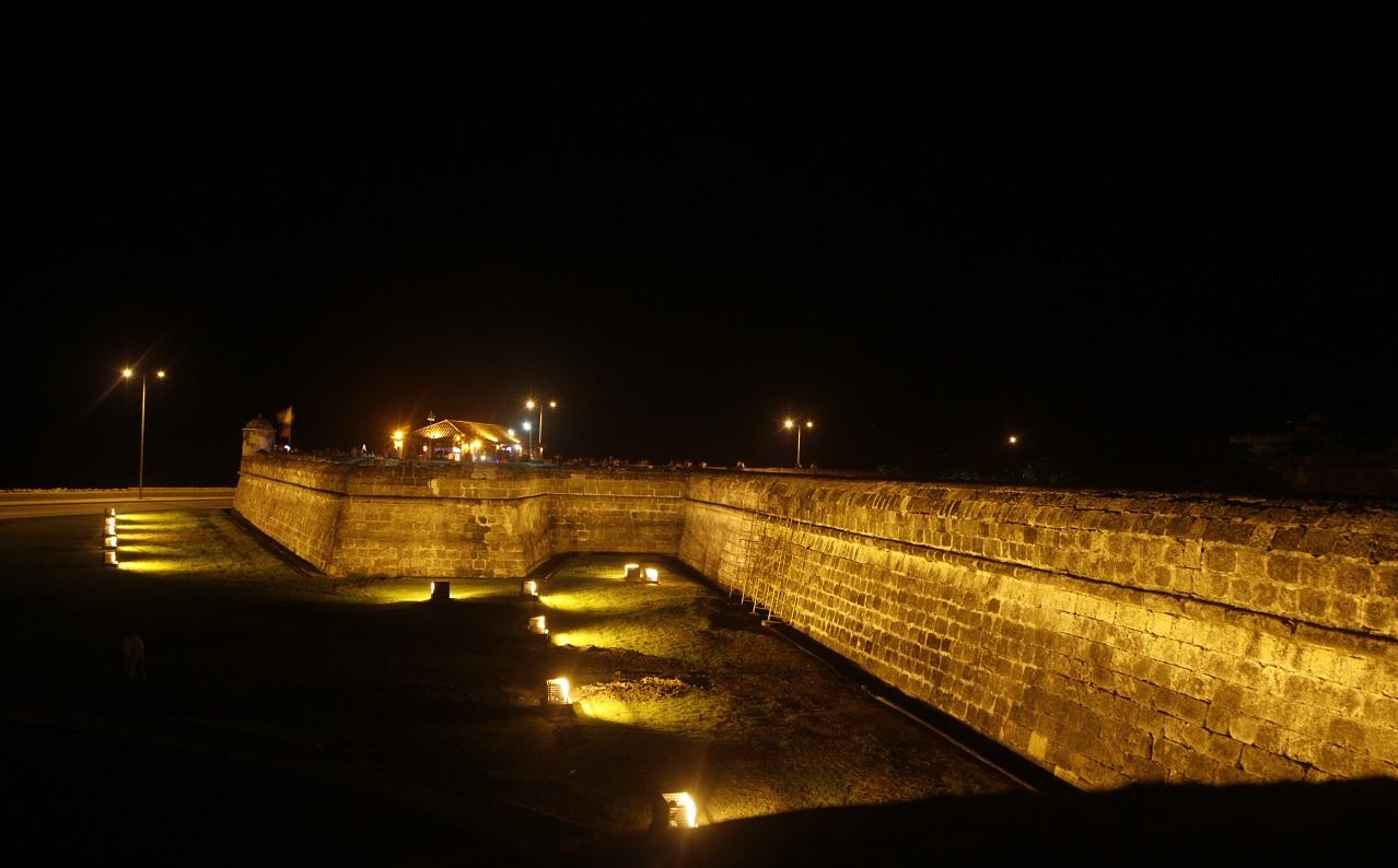 Imagen de Cartagana nocturna Cordon amurallado