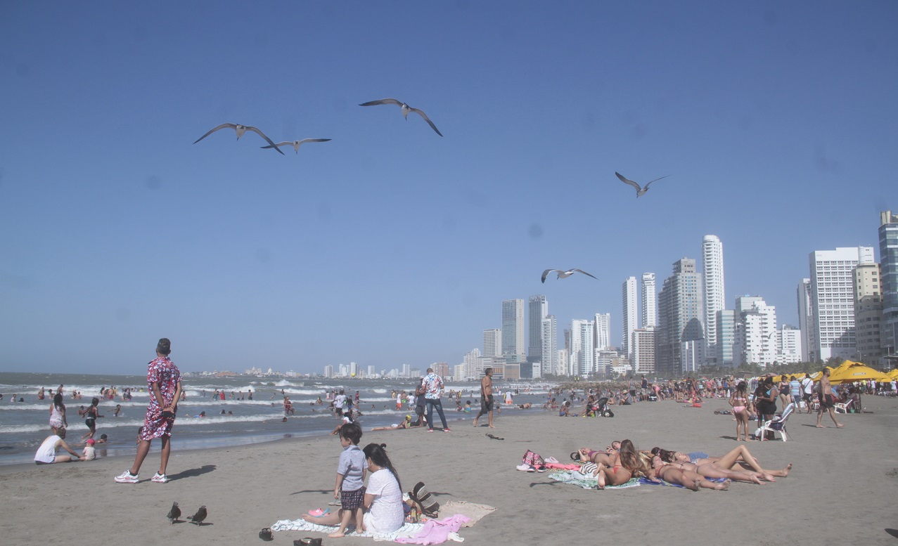 Playa de Bocagrande, Cartagena de Indias