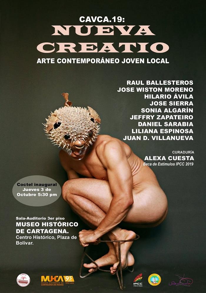Afiche de exposición en el Museo Histórico de Cartagena