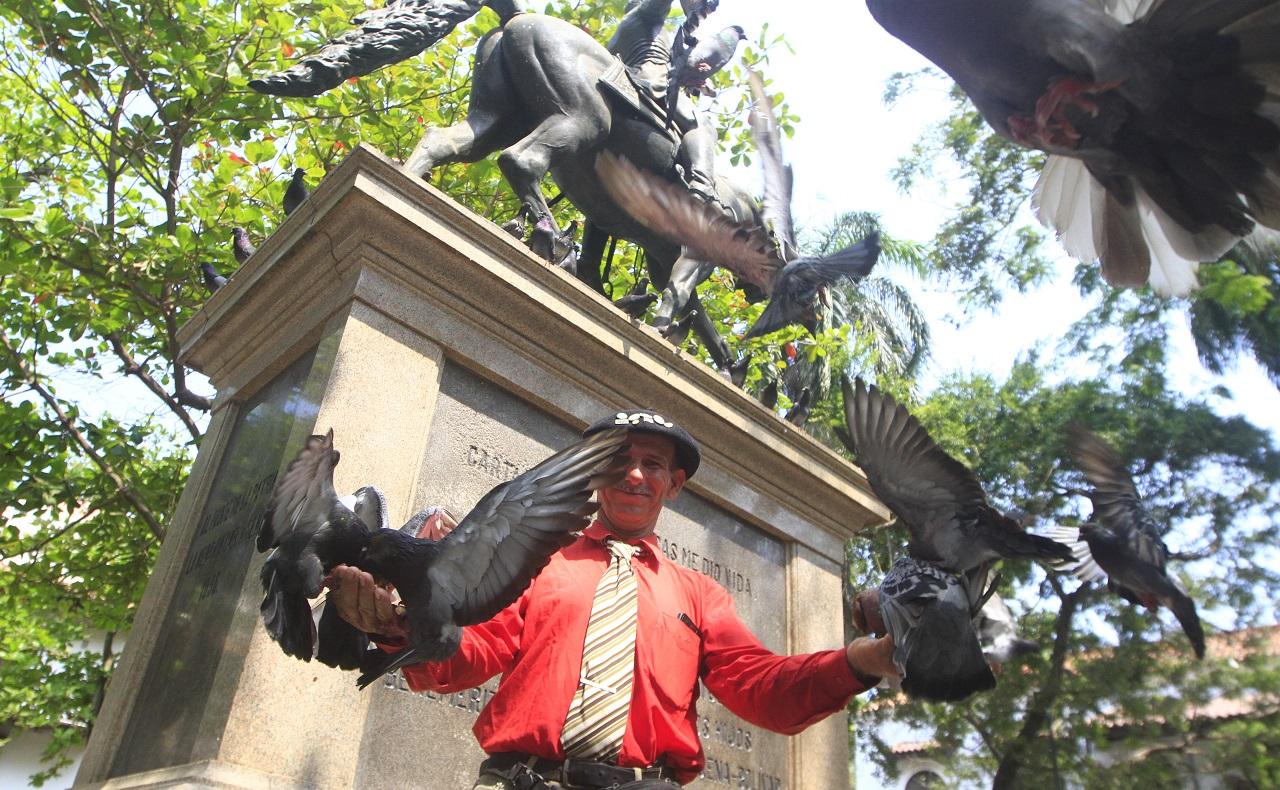 Martín Esteban Echegaray Davies caminante argentino que visita a Cartagena