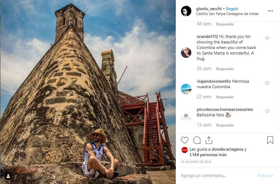 Castillo de San Felipe Cartagena Instagram