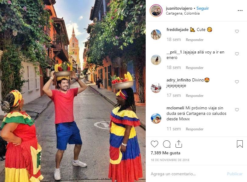 Calles Centro Histórico Cartagena Instagram