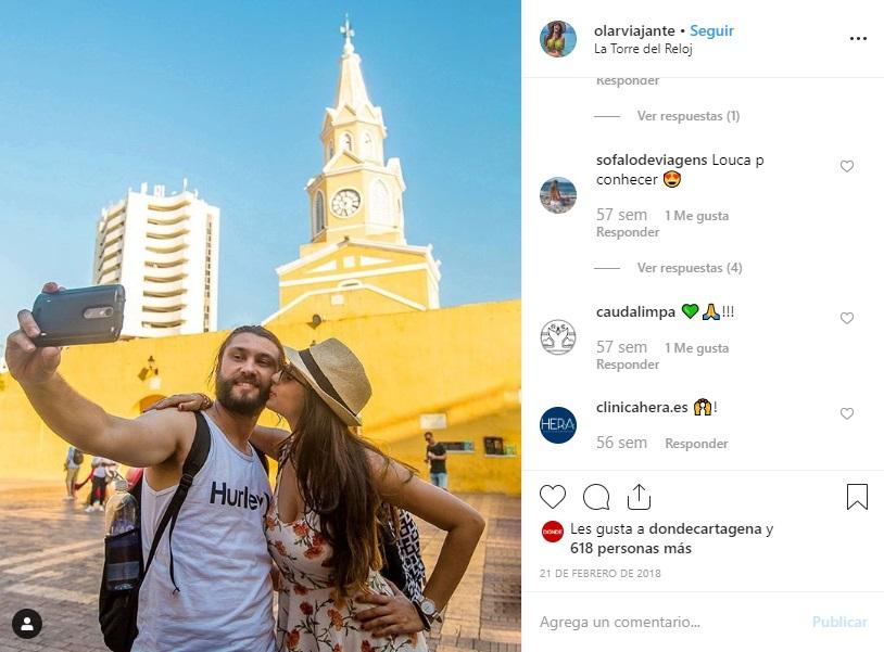 Torre del Reloj Cartagena Instagram