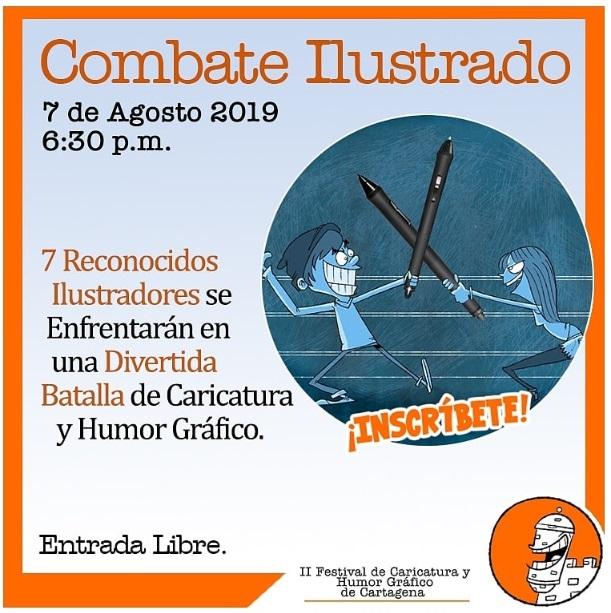 Afiche de talleres culturales en La Presentación de Cartagena