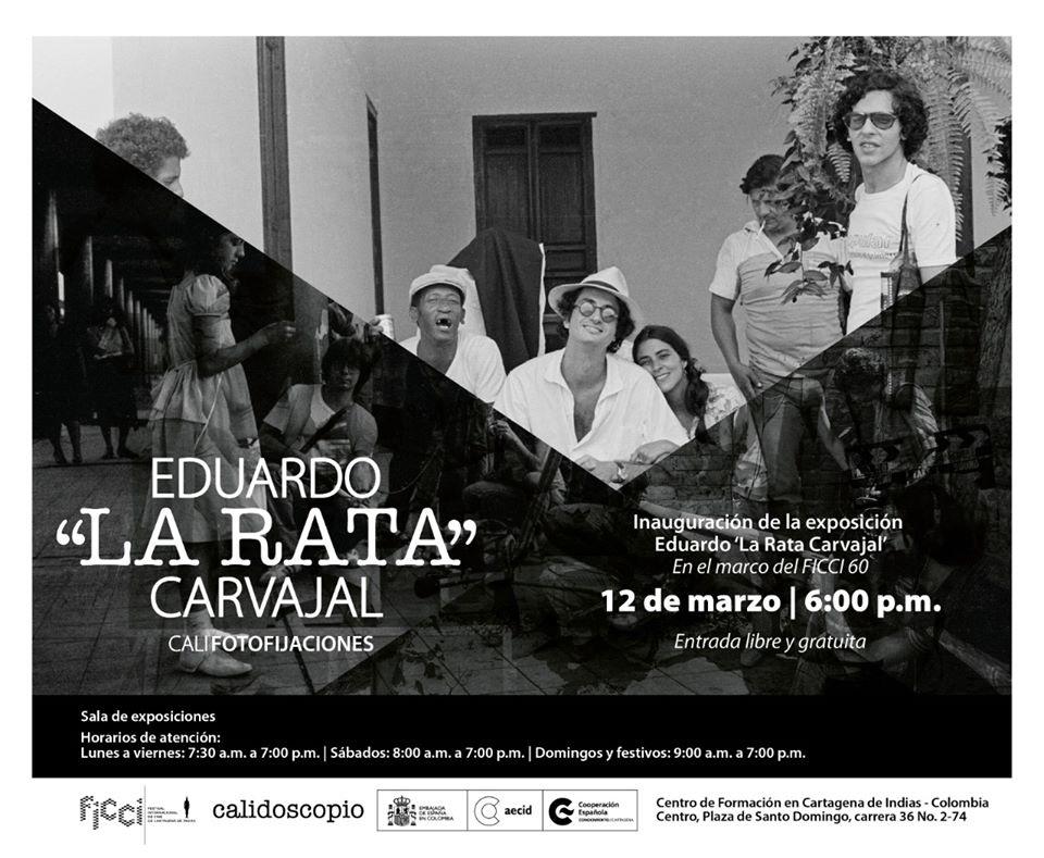 Afiche exposición en la Cooperación Española de Cartagena