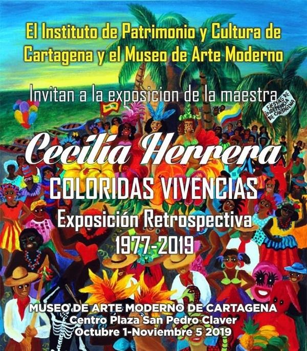 Exposición en el Museo de Arte Moderno de Cartagena de Indias, Coloridas vivencias