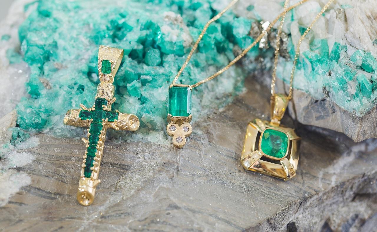 Joyas con esmeraldas de Adas Jewelry Factory