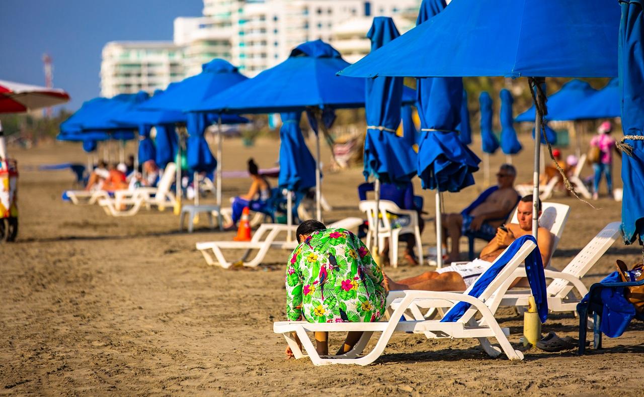 Playa de Blas el Tezo en Cartagena