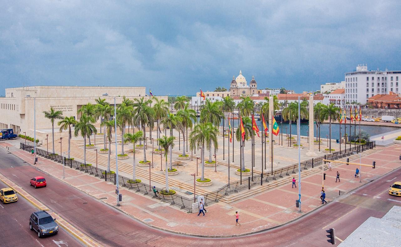 Vista panorámica del Centro de Convenciones de Cartagena para ilustrar nota de congresos