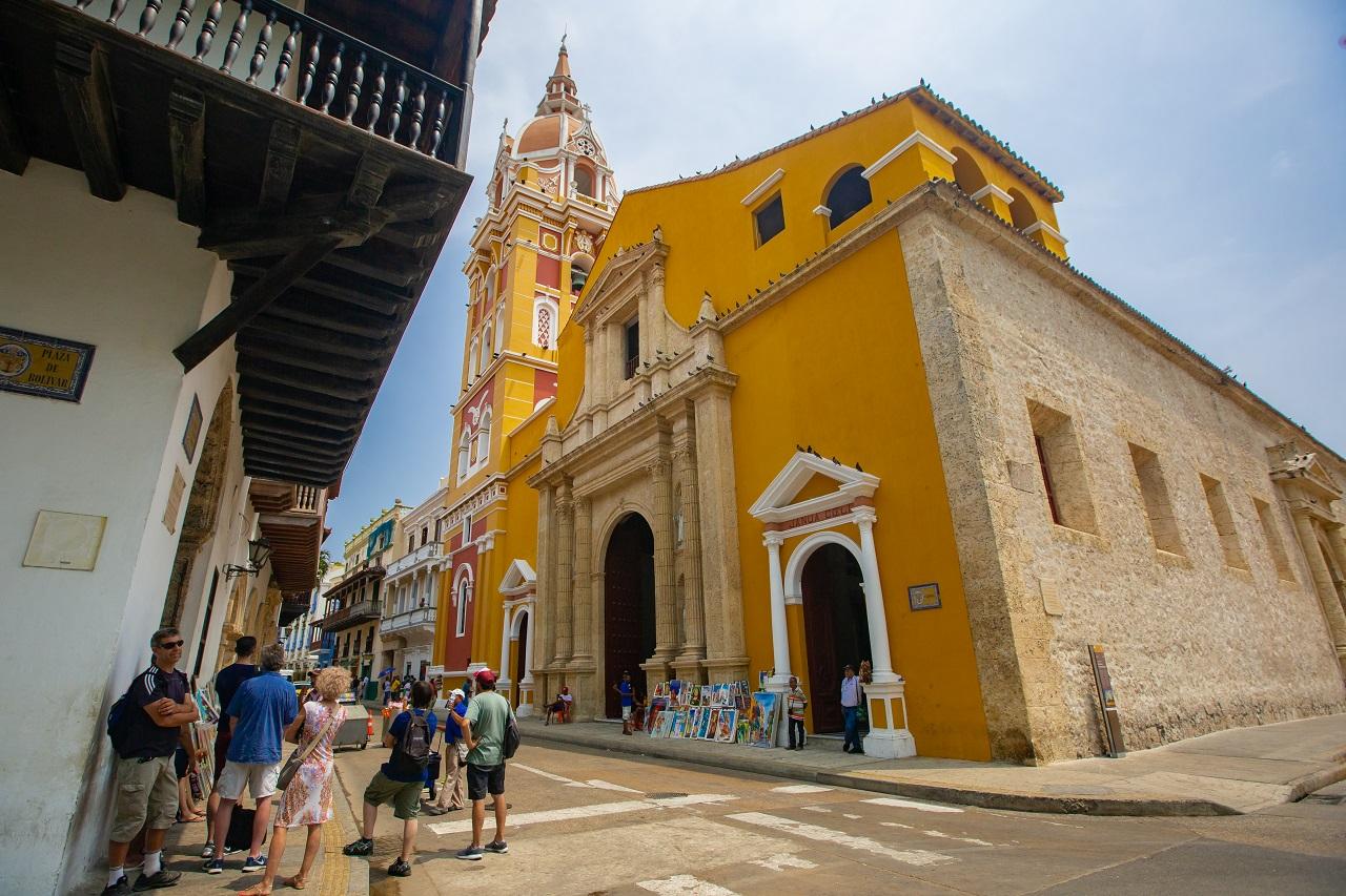 Catedral de Santa Catalina de Alejandría imagen para ilustrar nota del cumpleaños de Cartagena de Indias