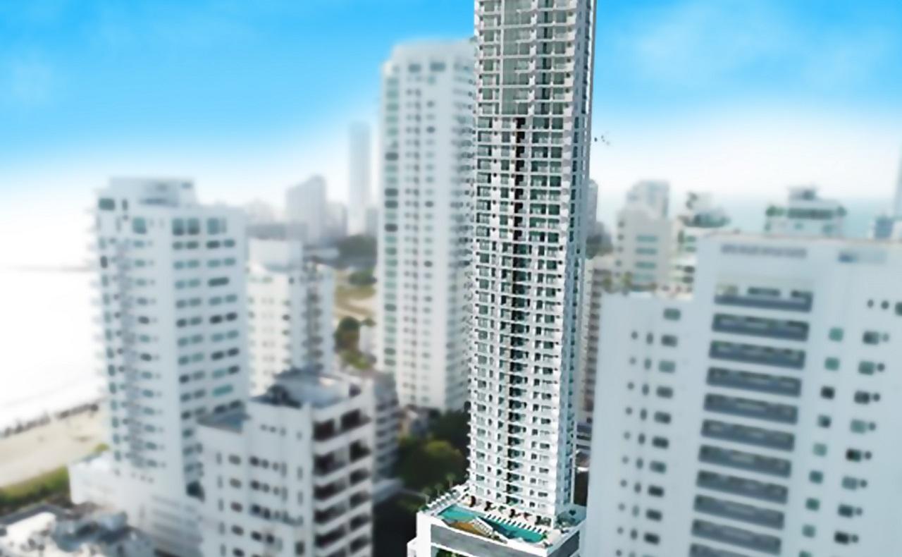 Imagen para ilustrar proyectos inmobiliarios en Cartagena New York Luxury Tower