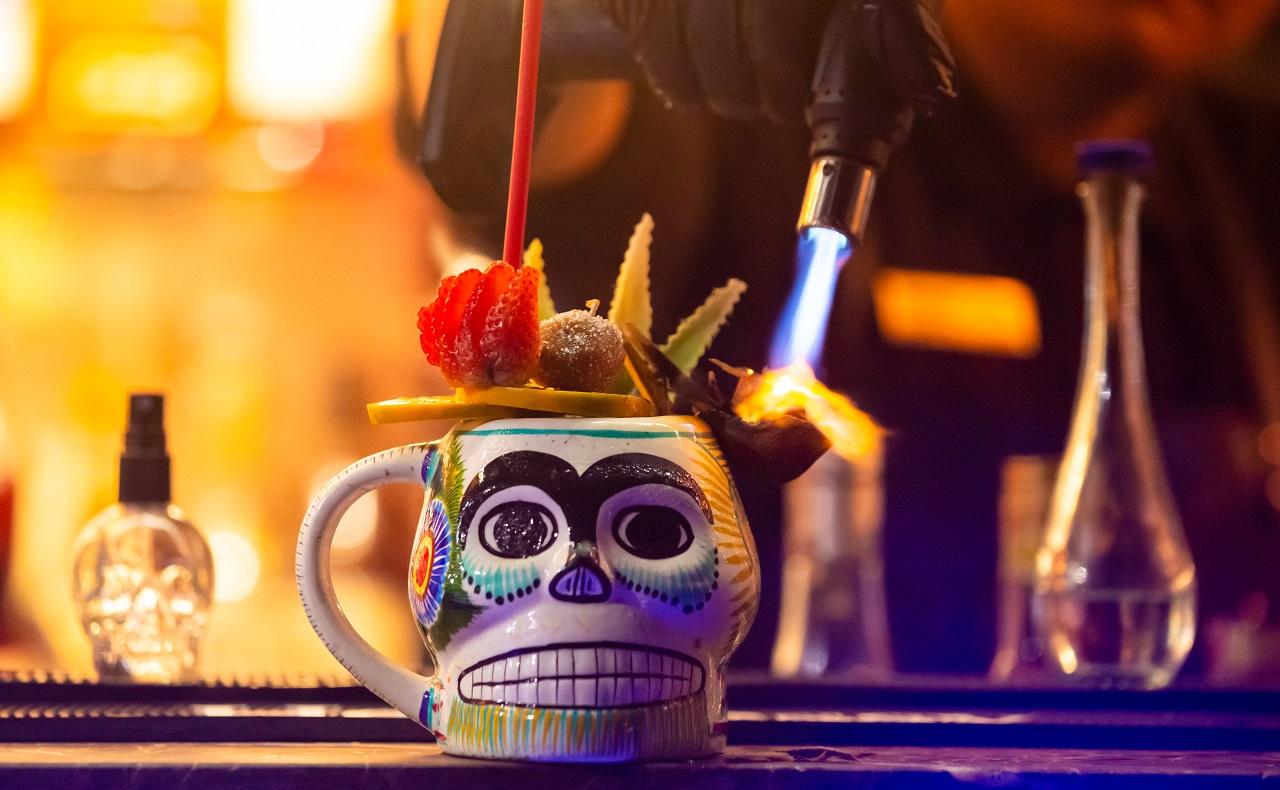 Agave Fusion en Mirador Gastro Bar, imagen para ilustrar nota de cócteles en Cartagena