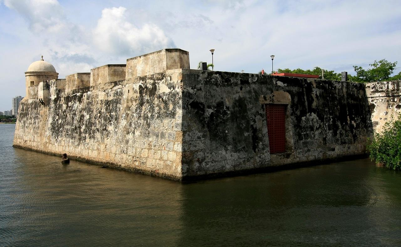 Fortificaciones de Cartagena: Baluarte El Reducto en Cartagena de Indias
