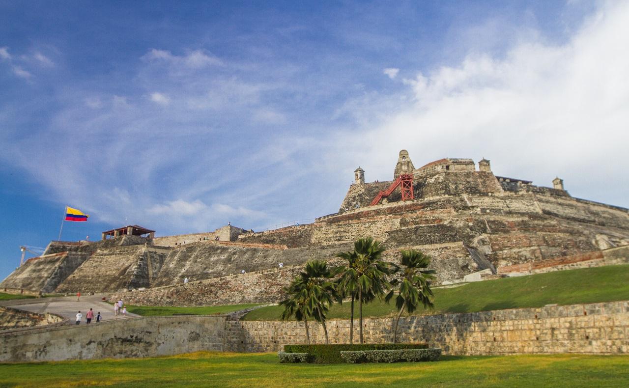 Fortificaciones de Cartagena: Castillo de San Felipe de Barajas en Cartagena de Indias