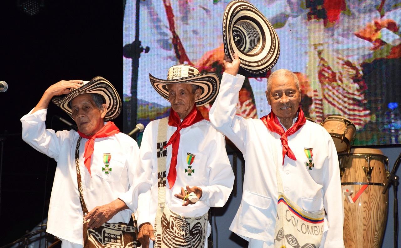 Homenaje a los Gaiteros de San Jacinto en Cartagena