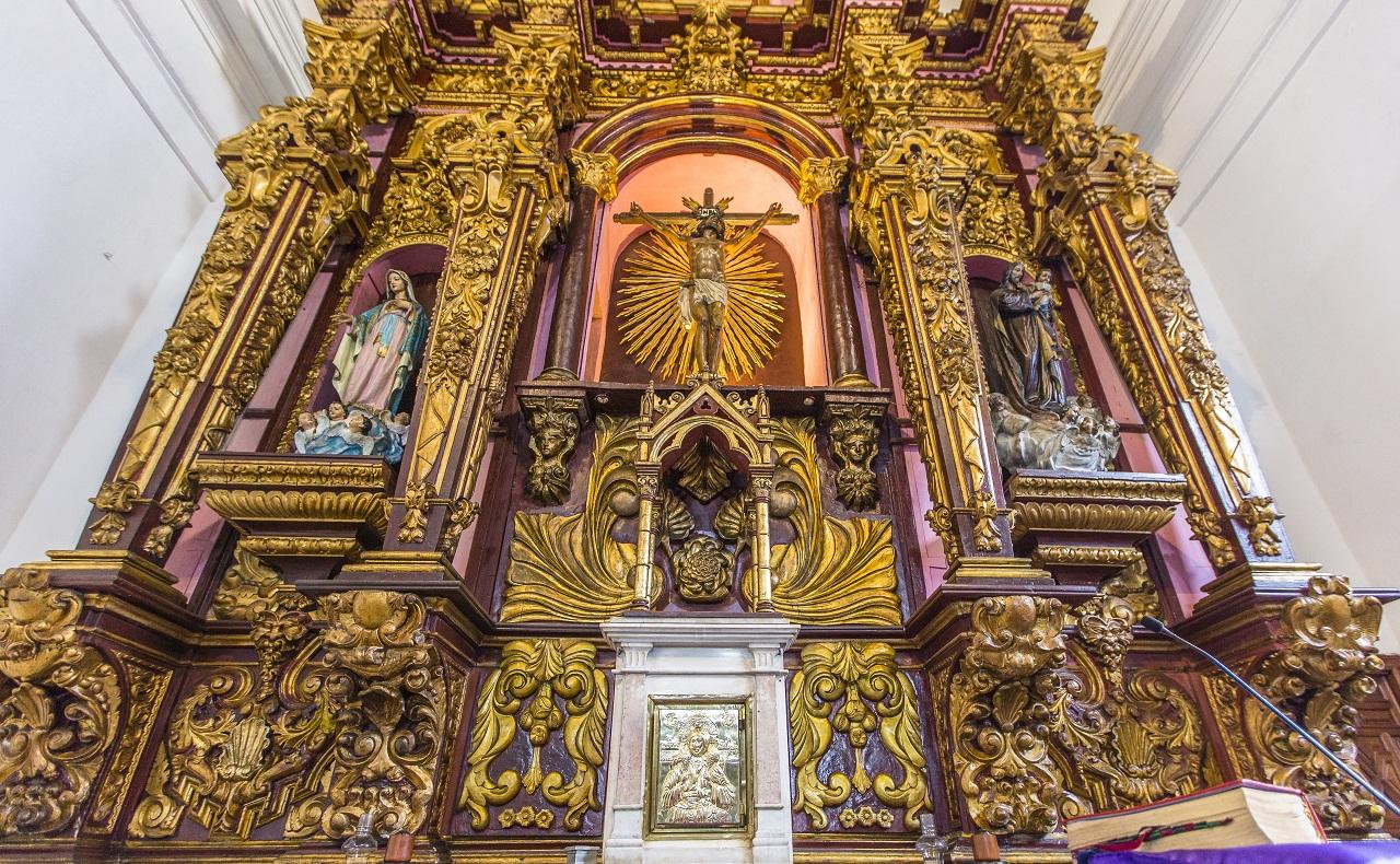 Iglesia de Santo Toribio, imagen para ilustrar nota sobre los horarios de las iglesias en Cartagena