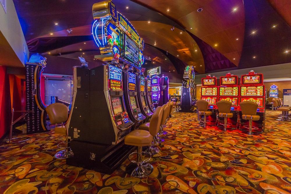 Máquinas tragamonedas de Río Casino en Cartagena de Indias