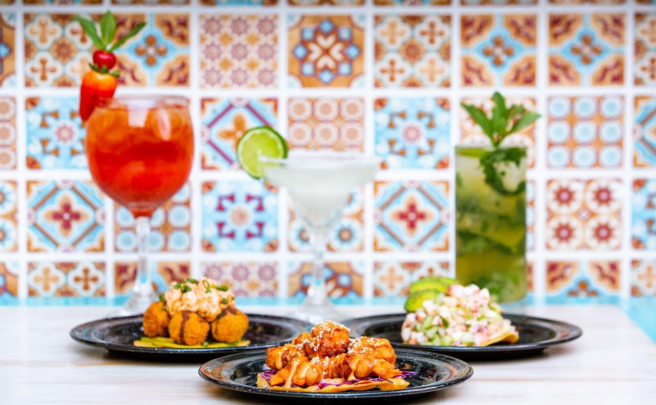 Platos del restaurante Las Hijas de la Tostada en Cartagena de Indias