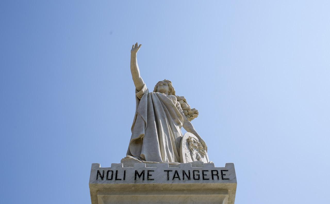 Camellón de los Mártires en Cartagena de Indias