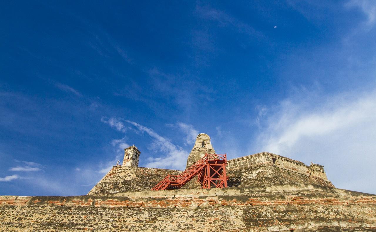 Castillo San Felipe de Barajas en Cartagena, Colombia