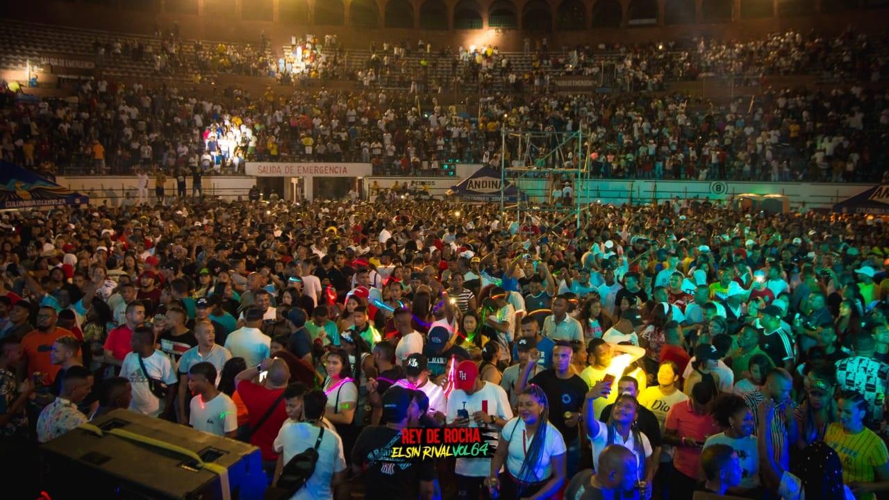Concierto de champeta en Cartagena, imagen para ilustrar nota de picós en Cartagena