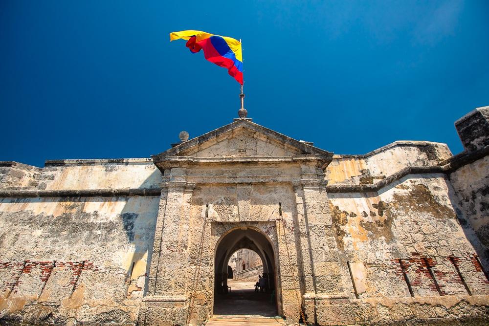 El Fuerte de San Fernando de Bocachica en Cartagena