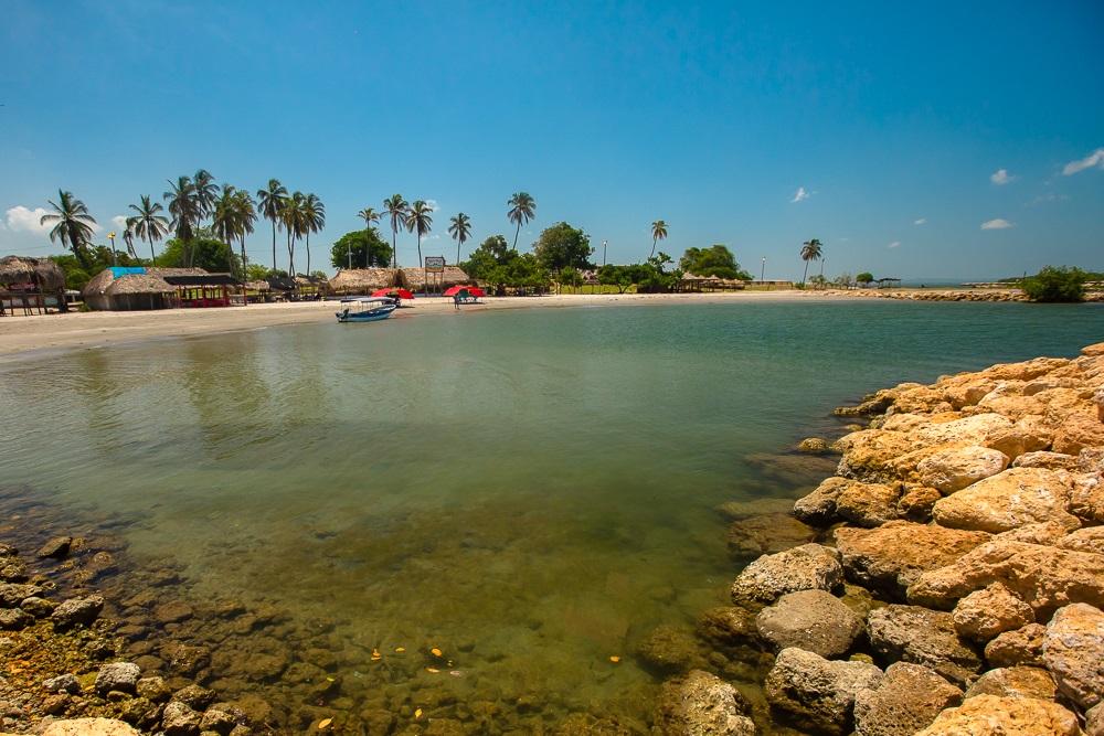 Playa del Bocachica Beach Club en Cartagena