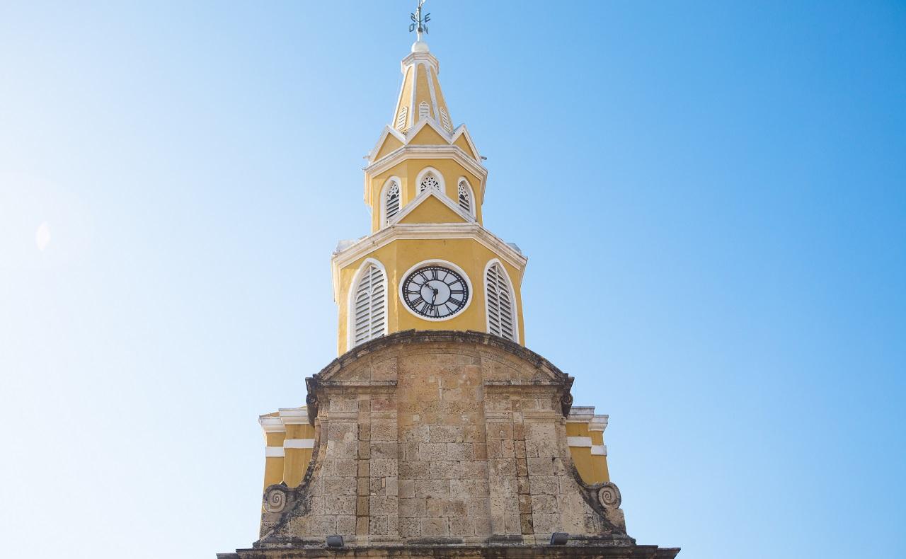 Torre del Reloj en Cartagena de Indias Colombia