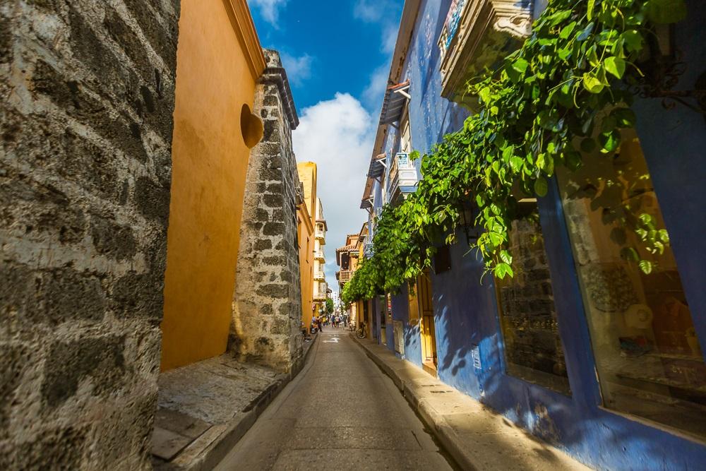 Callejón del Centro Histórico de Cartagena