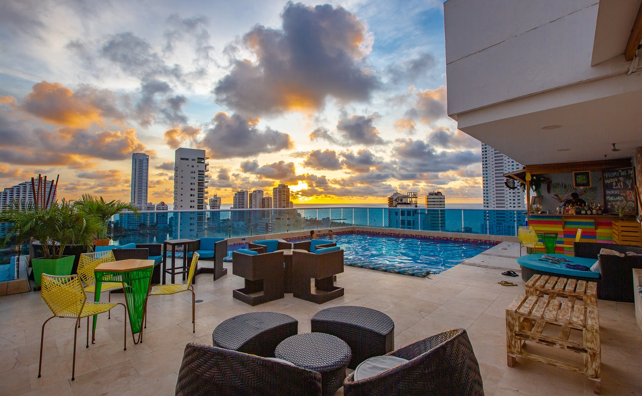 Terrazas de Cartagena de Indias, Hotel La Gran Vía en Bocagrande