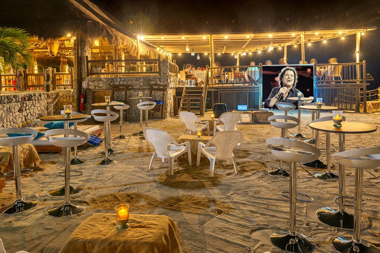 actividades nocturnas en el Hotel Isla del Encanto en Cartagena de Indias