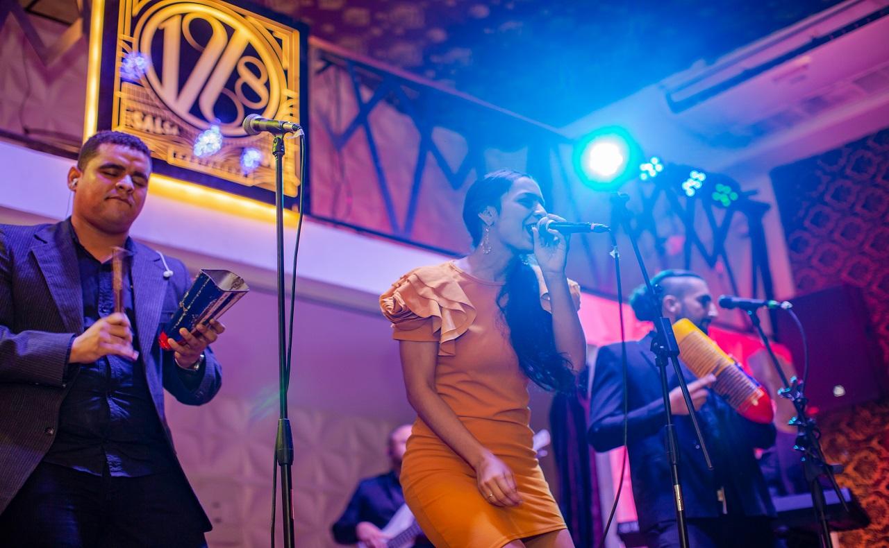 Orquesta de 1968 Salsa Show, imagen para ilustrar nota de shows en vivo en Cartagena
